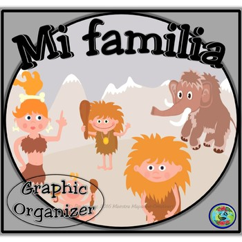 Family Tree Graphic Organizer / Mi árbol de familia imaginaria