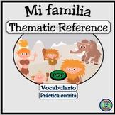 Family Tree Graphic Organizer - Mi árbol de familia imaginaria