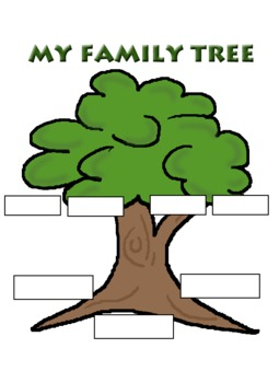 Family Tree Homework Page