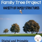Family Tree Lesson and Activities for Primary Grades
