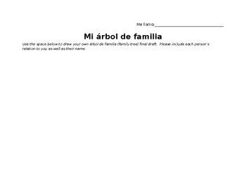 Family Tree Project: Final Template