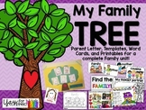 Family Unit {early childhood, preschool, prek, kindergarten, first grade}