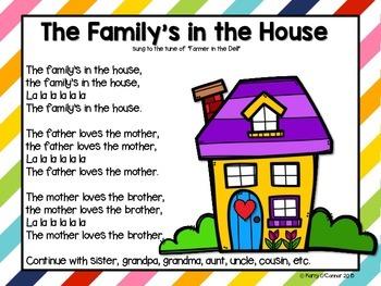 Family Unit {early childhood, preschool, prek, kindergarten, first grade}