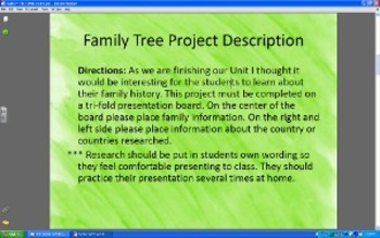 Family Tree Projects