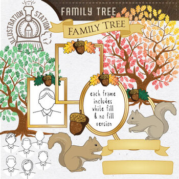Family Tree Template Teaching Resources | Teachers Pay Teachers