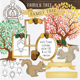 Family Tree Template Clip Art