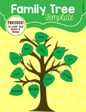 Family Tree Template Freebie
