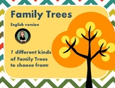 Family Tree Templates to inspire your students!