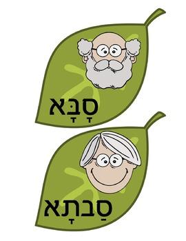 Family Tree Wall Display - Hebrew