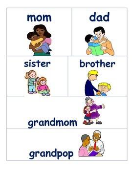 Family Tree Word Bank