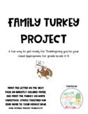 Family Turkey Project!