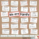 Family Types Bulletin Board Kit