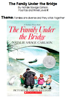 Family Under the Bridge Discussion Guide and Study Guide