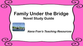 Family Under the Bridge Novel Study Guide