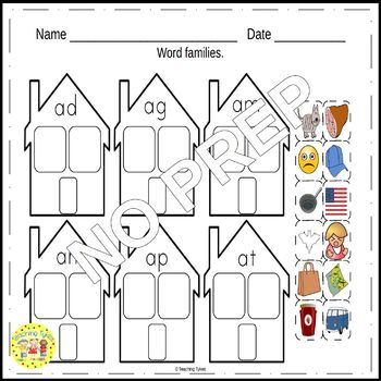 Family Worksheets Activities Games Printables and More
