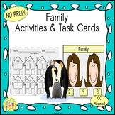 Family Activities and Task Cards