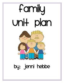 Family Unit Activities