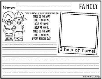 Family Unit Bulletin Board Ideas