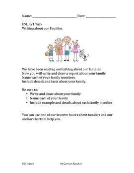 Family Unit for ELLs