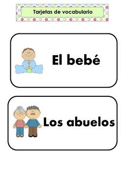 Family Unit in Spanish
