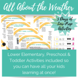 At-Home Learning Camp: All About the Weather