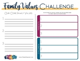 Family Values Challenge