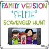 Family Version Selfie Scavenger Hunt Distant Learning