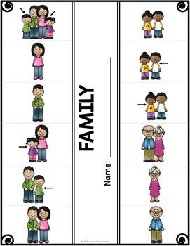 Family Vocabulary Activities for Beginning ELLs