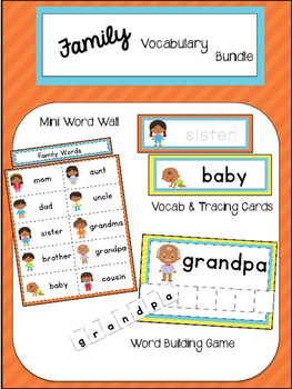 Family Vocabulary Bundle