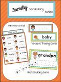 Family Vocabulary Bundle