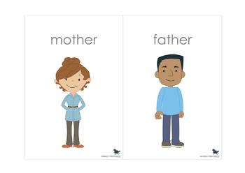 Family Vocabulary Cards