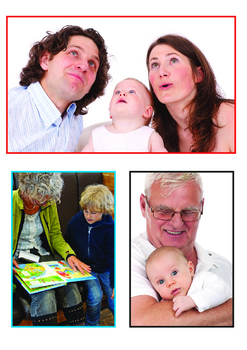 Family Vocabulary Flashcards, Family Tree Mats for Speech and Language, MFL's