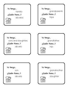 Family Vocabulary Packet