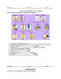 Family Vocabulary Quiz/Activity