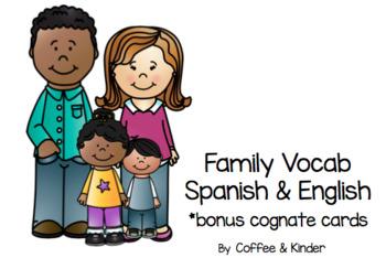 Family Vocabulary Spanish & English