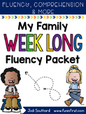 Family Week Long Fluency Packet