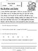 Family Week Long Fluency Packet