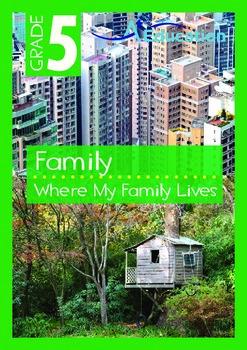 Family - Where My Family Lives - Grade 5