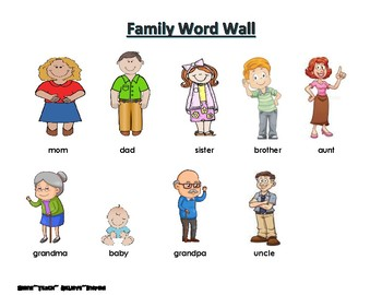 Family Word Wall