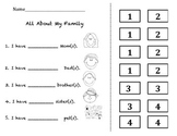 Family Worksheets