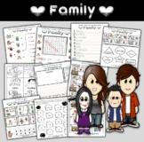 Family Themed Activity Set