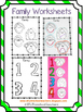 Family Worksheets for Preschool English Language Learners