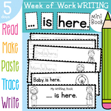 Family Writing Activities {Week of Writing Booklet}