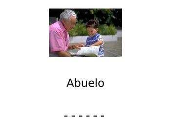 Family Writing Activity (English and Spanish)