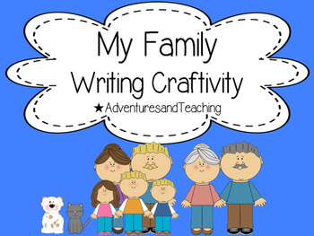 Family Writing {Craftivity} FREEBIE