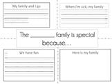 Family Writing - Four Square
