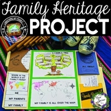 My Family Heritage Lapbook Project
