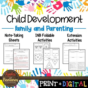 Family and Parenting - Interactive Note-taking Activities