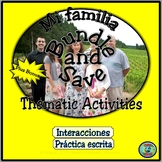 Self, Family and Friends Thematic Unit Bundle