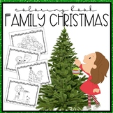 Family at Christmas Coloring Book